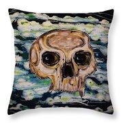 Primordial Portraits 5 Throw Pillow