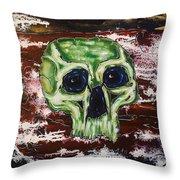 Primordial Portraits 7 Throw Pillow