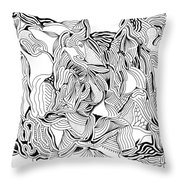 Primordial Throw Pillow