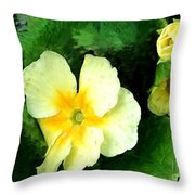 Primrose 2 Throw Pillow