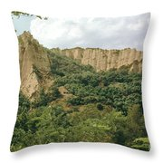 Prin Mountain Peaks Throw Pillow