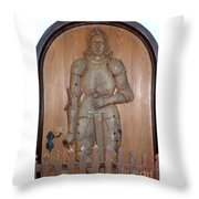 Prince At The Door Throw Pillow