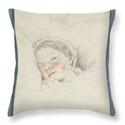 Prince Hoare The Baby Throw Pillow