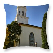 Prince Of Peace Catholic Church Madison Throw Pillow