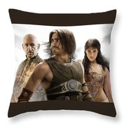Prince Of Persia The Sands Of Time Throw Pillow