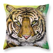 Prince Of The Jungle Throw Pillow
