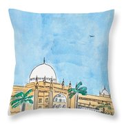 Prince Of Wales Museum Mumbai Throw Pillow