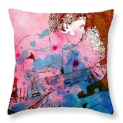 Prince Quote. There's A Dark Side To Everything Throw Pillow