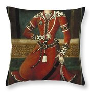 Prince Yahya Throw Pillow