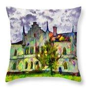Princely Palace Throw Pillow
