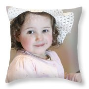 Princess Clair Throw Pillow