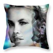 Princess Claudia Vinci Throw Pillow