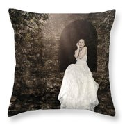 Princess In The Tower Throw Pillow