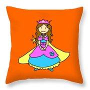 Princess Throw Pillow