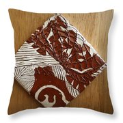 Princess Nambi - Tile Throw Pillow