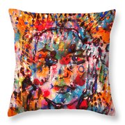 Princess Of Happiness Throw Pillow