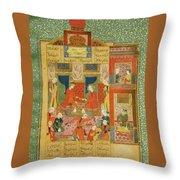 Princess Of The Fourth Clime Throw Pillow