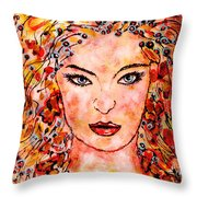 Princess Of The Universe Throw Pillow