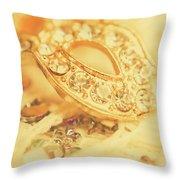 Princess Pendant Throw Pillow