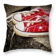 Princess Shoes Throw Pillow