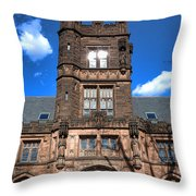 Princeton University East Pyne Hall  Throw Pillow