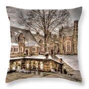 Snow / Winter Princeton University Throw Pillow