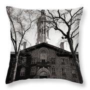 Princeton University Nassau Hall  Throw Pillow