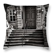 Princeton University Nassau Hall Tigers Throw Pillow