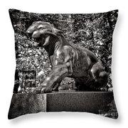 Princeton University Tiger Sculture Throw Pillow