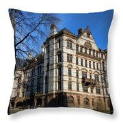 Princeton University Witherspoon Hall  Throw Pillow