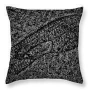 Print On Concrete Throw Pillow