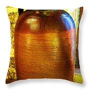 Prism On Pottery Throw Pillow