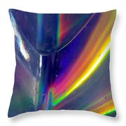Prism Waves I Throw Pillow