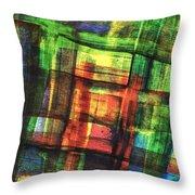 Prismatic 1 Throw Pillow