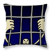 Prisoner Throw Pillow