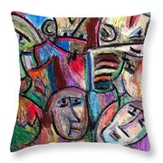 Prisoners By Rafi Talby Throw Pillow