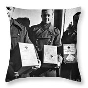 Prisoners Of War, C1942 Throw Pillow