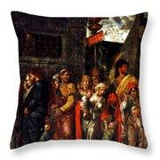 Prisonnniers 1506 Throw Pillow