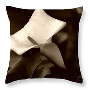 Pristine Throw Pillow