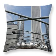 Pritzker Pavilion Throw Pillow