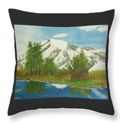 Private Cabin Throw Pillow
