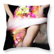 Private Dance Throw Pillow
