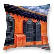 Private House Antigua Guatemala - Guatemala Throw Pillow