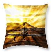 Private Pilot Heaven Throw Pillow