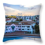 Private Pool 3 Throw Pillow
