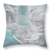 Private Waterfall Throw Pillow