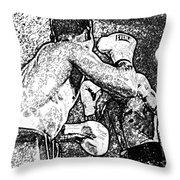 Prize Fighters Throw Pillow
