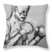 Prizefighter Throw Pillow