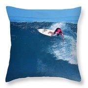Pro Surfer Alex Ribeiro-6 Throw Pillow