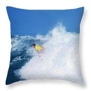 Pro Surfer Chris Ward - 2 Throw Pillow